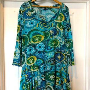 Scarf style dress